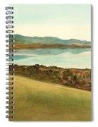 Lago Del Coghinas Spiral Notebook