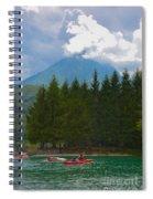Lago Di Barcis Spiral Notebook