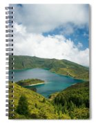 Lagoa Do Fogo Spiral Notebook
