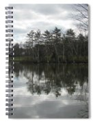 Lagoon Reflection 1 Spiral Notebook