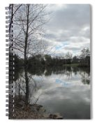 Lagoon Reflections 2 Spiral Notebook