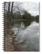 Lagoon Reflections 3 Spiral Notebook