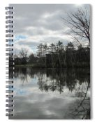 Lagoon Reflections 4 Spiral Notebook