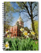 Lagrange County Courthouse Spiral Notebook