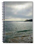 Laguna Beach Sunset Spiral Notebook