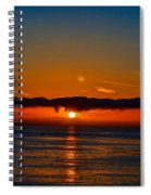 Laguna Beach Sunset Spiral Notebook