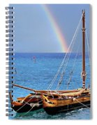 Lahaina Harbor Spiral Notebook