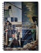 Lahaina Sugar Mill Spiral Notebook
