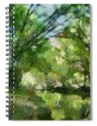 Lahinja River Spiral Notebook