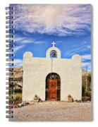 Lajitas Chapel 1 Spiral Notebook