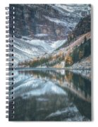 Lake Agnes No 4 Spiral Notebook