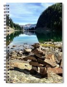 Lake Agnes Tea House Spiral Notebook