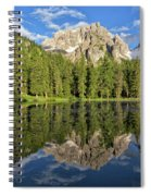 Lake Antorno Spiral Notebook