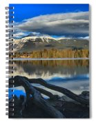 Lake Beauvert Roots Spiral Notebook