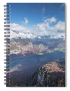 Lake Bohinj From Mount Vogel Spiral Notebook