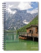 Lake Braies Spiral Notebook