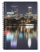 Lake Calhoun Reflection Spiral Notebook