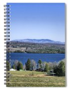 Lake Carmi Campers Delight Spiral Notebook