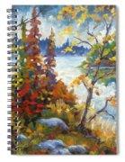 Lake Cartier Spiral Notebook