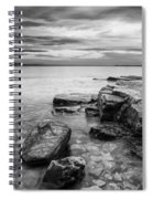 Lake Champlain-vermont-sunrise-storm Spiral Notebook