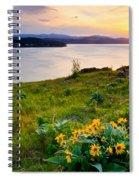 Lake Coeur D'alene Spring Spiral Notebook