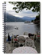 Lake Como 14 Spiral Notebook