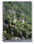 Lake Como 15 Spiral Notebook