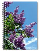 Lake Country Lilacs Spiral Notebook