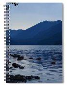 Lake Crescent Spiral Notebook
