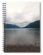 Lake Crescent Four Spiral Notebook