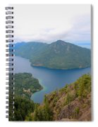 Lake Crescent  Spiral Notebook