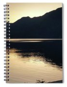 Lake Cresent At Dusk Spiral Notebook