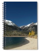 Lake Dillon Colorado Spiral Notebook