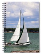 Lake Erie Sailing 8092 Spiral Notebook