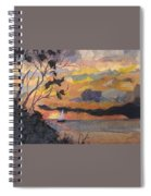 Lake Erie Sunset Spiral Notebook