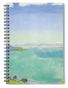 Lake Geneva From The Caux Spiral Notebook