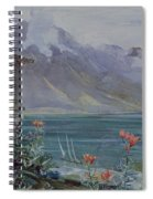 Lake Geneva Spiral Notebook