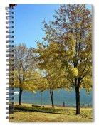 Lake George  12 Spiral Notebook