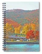 Lake George  14  Spiral Notebook