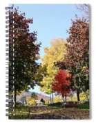 Lake George  3 Spiral Notebook