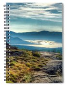 Lake George From Cat Mountain 1 Spiral Notebook