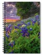 Lake Grapevine Twilight Spiral Notebook