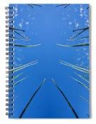 Lake Grass Reflection Spiral Notebook