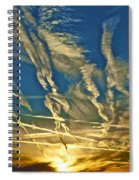 Lake Havasu Sunset Spiral Notebook