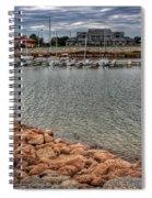 Lake Hefner Dock Spiral Notebook