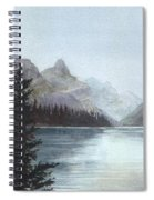 Lake Helevorn Spiral Notebook