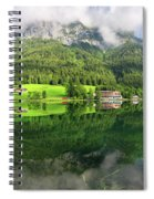 Lake Hintersee Spiral Notebook