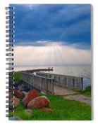 Lake Huron Michigan Spiral Notebook