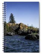 Lake Huron Shoreline Cedarville Michigan Spiral Notebook