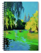 Lake In Central Park Ny Spiral Notebook